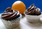 cupcakes with an orange