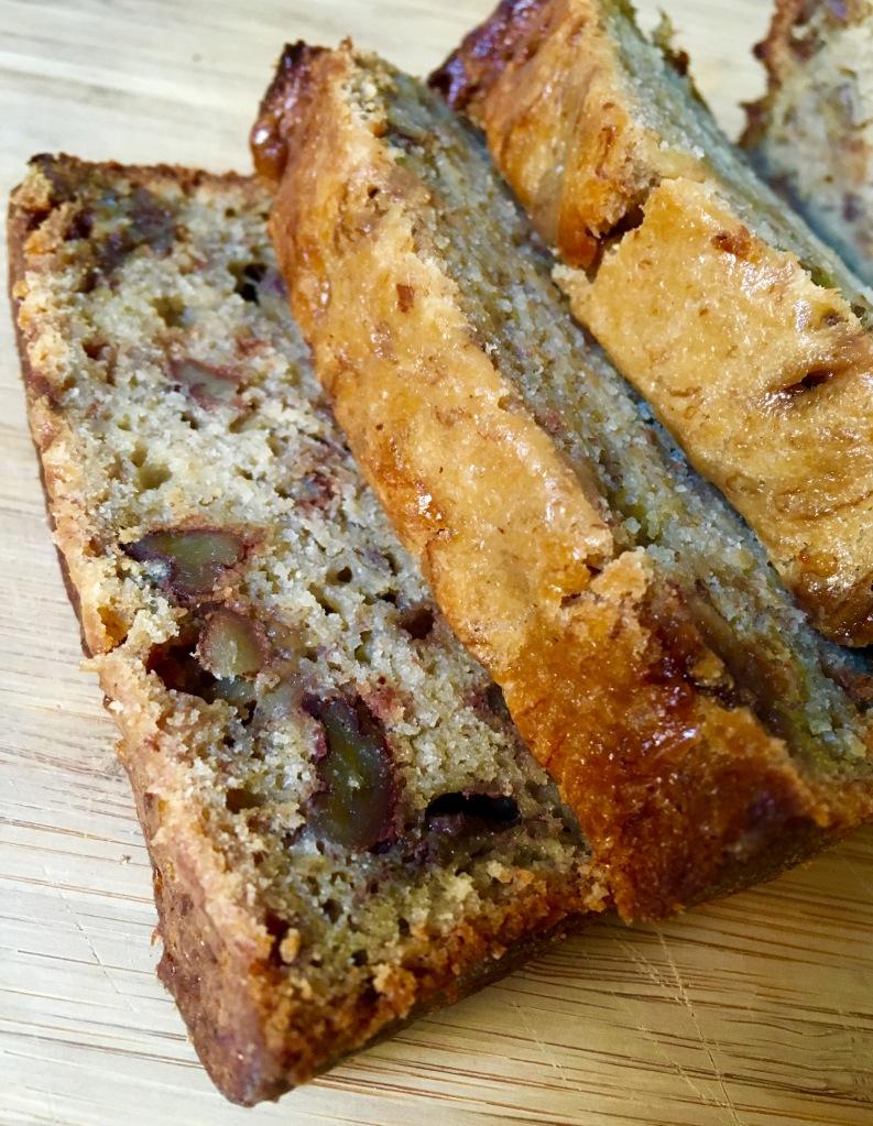 close up on loaf